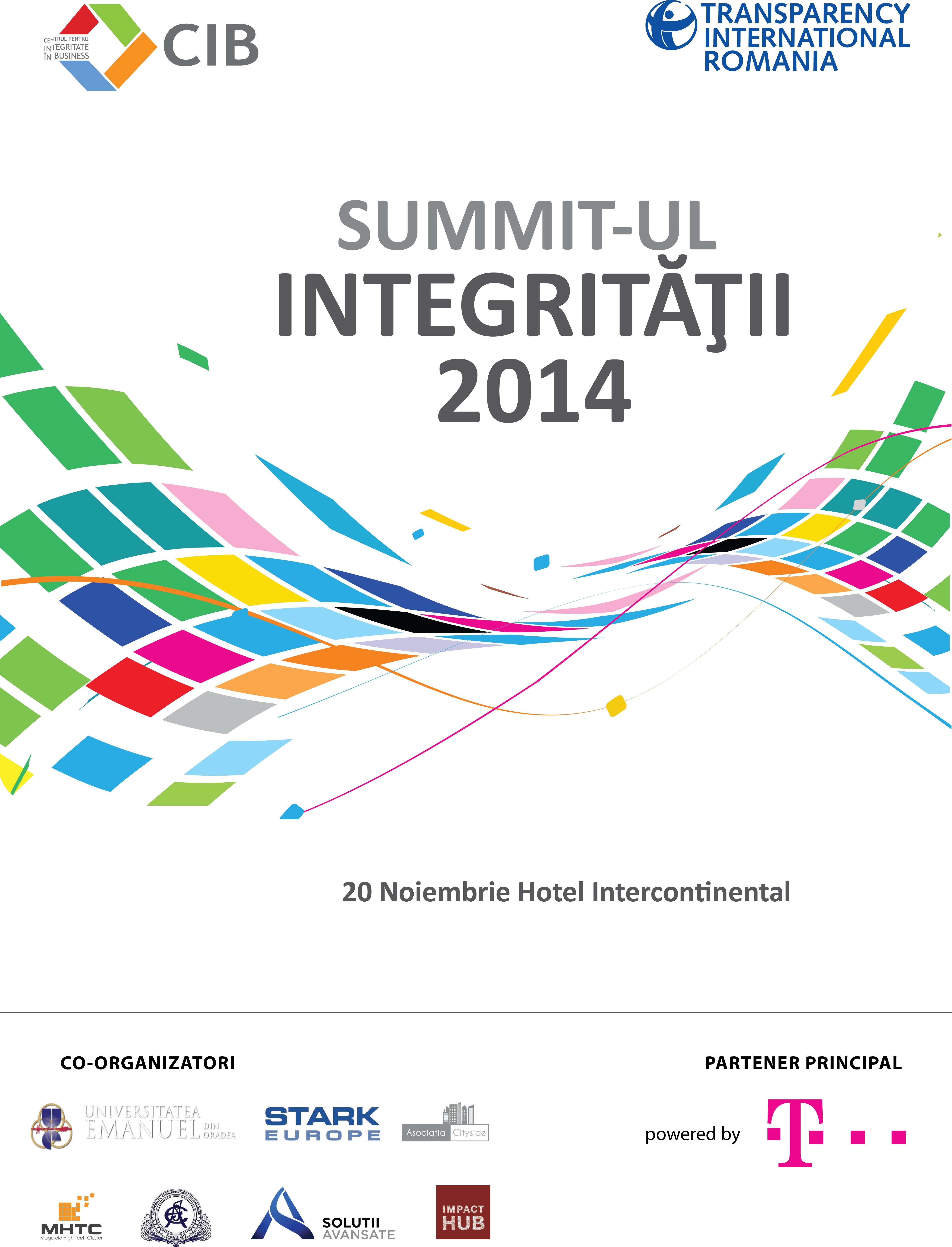 Summit Integritate 2014